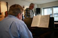 2017 lørdag kor og solister øver sig